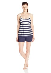 Tommy Hilfiger Women's Rugby Cami and Short Set