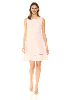 Tommy Hilfiger Women's Scuba Crepe Swing Dress