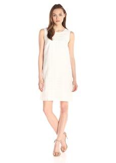 Tommy Hilfiger Women's Sheer Woven Plaid Dress