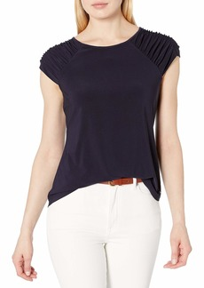 Tommy Hilfiger Women's Short Sleeve-Knit Top