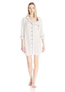 Tommy Hilfiger Women's Short Sleeve Sleep Dress