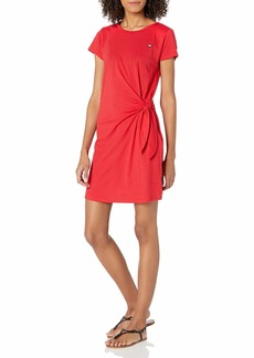 Tommy Hilfiger Women's Short Sleeve Swimsuit Beach Cover Up Dress