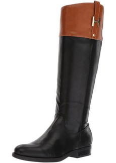Tommy Hilfiger Women's SHYENNE Equestrian Boot  6.5 Medium US