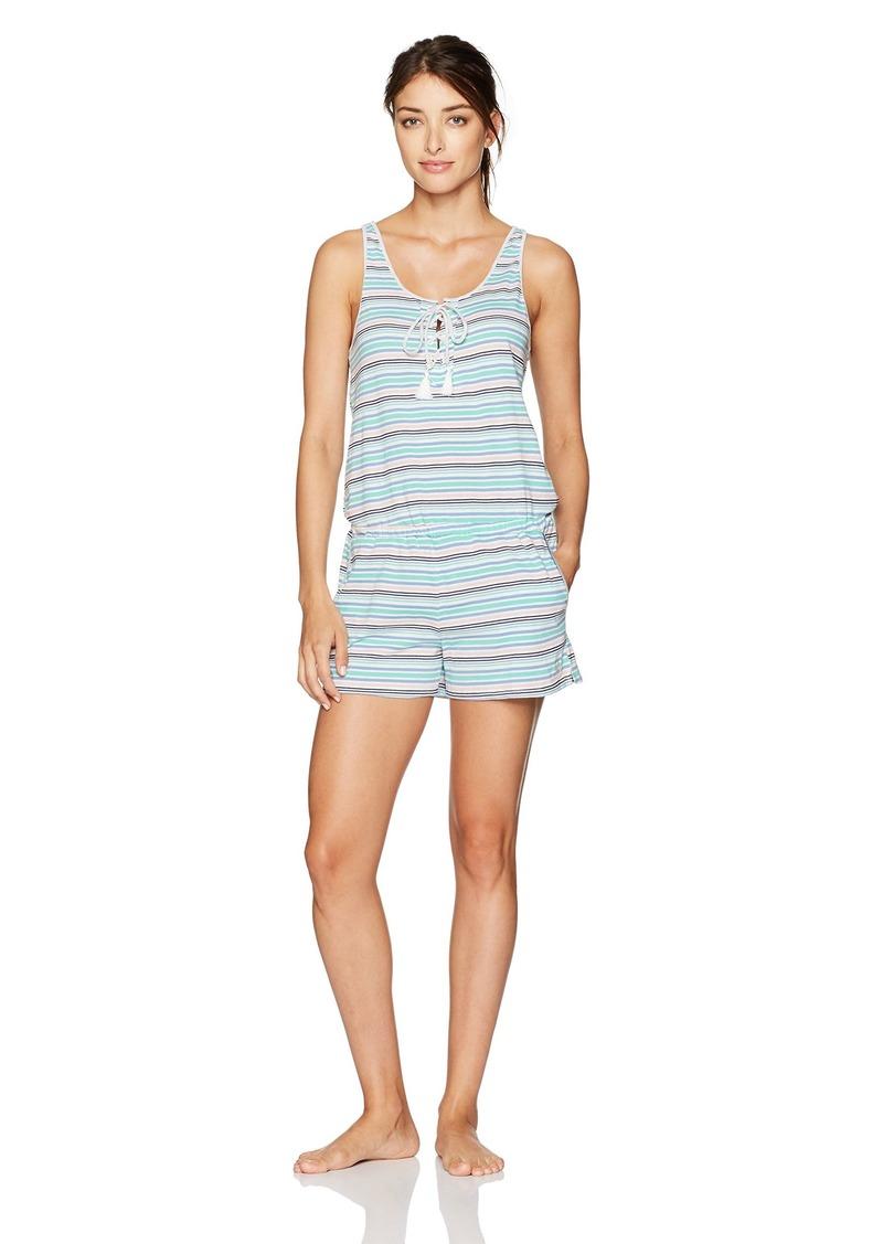 Tommy Hilfiger Women's Sleep Romper Pajama Onesie Pj  S