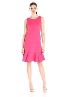 Tommy Hilfiger Women's Sleeveless Skirted Hem Dress