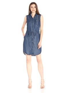Tommy Hilfiger Women's Sleeveless Tencel Denim Shirtdress