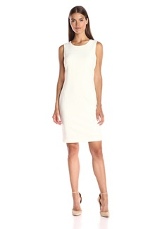 Tommy Hilfiger Women's Sleeveless Variegated Rib Knit Sheath Dress