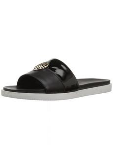 Tommy Hilfiger Women's SOULI Slide Sandal Black  M US