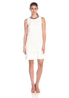 Tommy Hilfiger Women's Sportly Floral Lace Dress