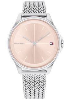 Tommy Hilfiger Women's Stainless Steel Mesh Bracelet Watch 35mm