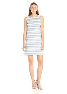 Tommy Hilfiger Women's Stitch Stripe Shift Dress