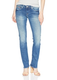 Tommy Hilfiger Women's Straight Leg Sandy Mid Rise Jeans  26X34