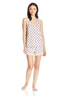 Tommy Hilfiger Women's Top and Short Bottom Pajama PJ Set  L