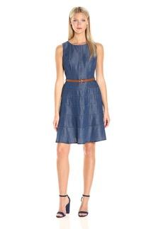 Tommy Hilfiger Women's Tencel Denim Swing Dress