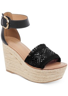 Tommy Hilfiger Women's Terin Platform Wedge Espadrille Sandals Women's Shoes
