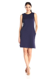 Tommy Hilfiger Women's Textured Knit Sleeveless Shift Dress