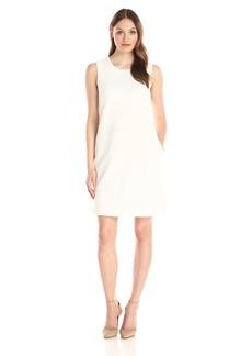 Tommy Hilfiger Women's Textured Knit Sleeveless Shift Dress