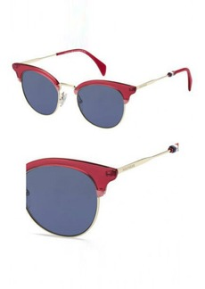 Tommy Hilfiger Women's Th1539s Cateye Sunglasses  49 mm