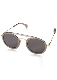 Tommy Hilfiger Women's Th1541s Oval Sunglasses GREY
