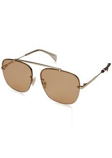 Tommy Hilfiger Women's TH1574/S Aviator Sunglasses