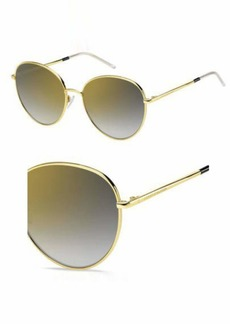 Tommy Hilfiger Women's Th1649s Round Sunglasses  58 mm
