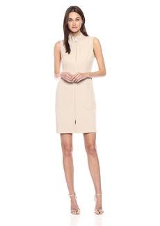 Tommy Hilfiger Women's Tommy Twill Front Zip Dress
