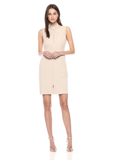 Tommy Hilfiger Women's Tommy Twill Front Zip Dress