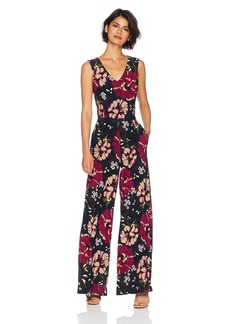 Tommy Hilfiger Women's v Neck Jersey Jumpsuit