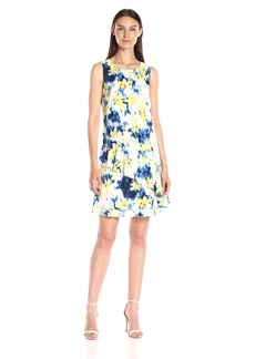 Tommy Hilfiger Women's Waterfall Floral Dress