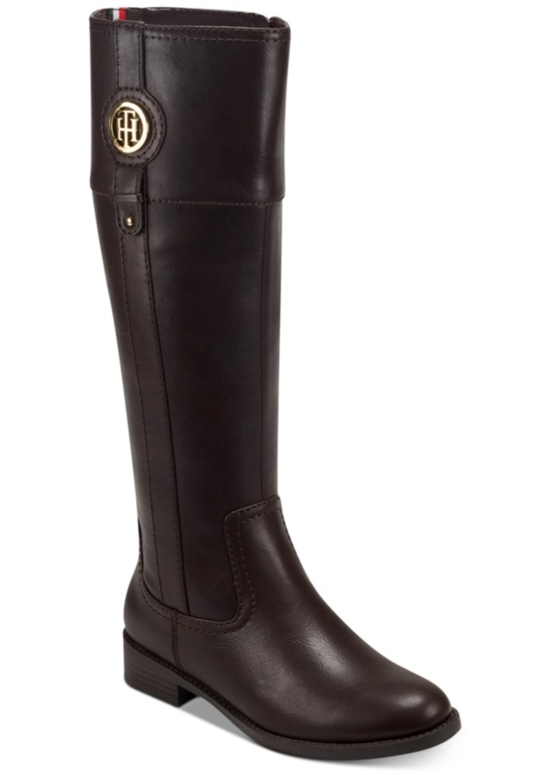 Tommy Hilfiger Women's Imina Riding Boots Women's Shoes