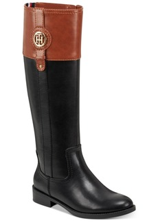 Tommy Hilfiger Women's Wide Calf Imina Riding Boots Women's Shoes