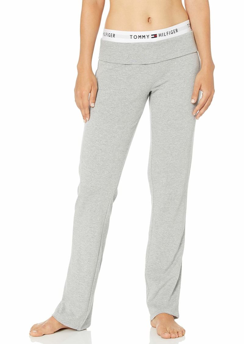 Tommy Hilfiger Women's Wide Leg Lounge Bottom Pajama Pant PJ