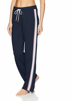 Tommy Hilfiger Women's Wide Leg Lounge Bottom Pajama Pant PJ  L