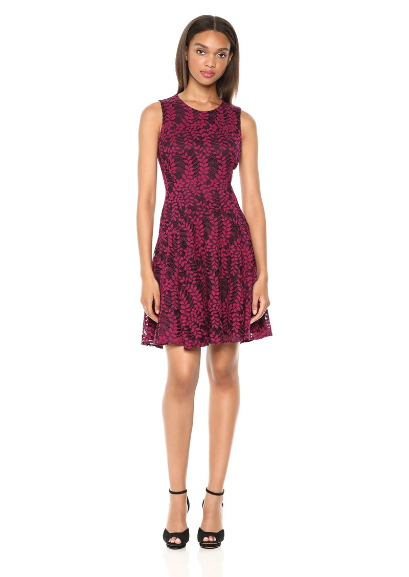 Tommy Hilfiger Women's Woodstock lace fit and Flare
