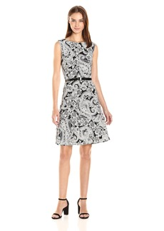 Tommy Hilfiger Women's Woodstock Paisley Swing Dress