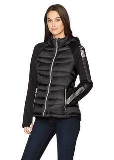 Tommy Hilfiger Women's Wool Blend Short Hooded Duffle Jacket  XLarge
