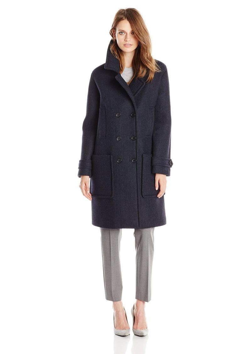 Tommy Hilfiger Women's Wool Neoprene Fashion Coat