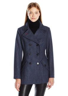 Tommy Hilfiger Women's Wool Peacoat  S