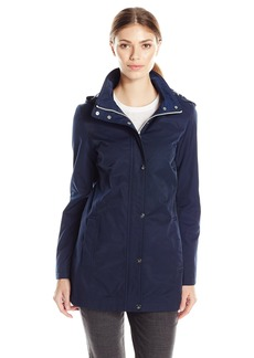 Tommy Hilfiger Women's Zip Front Hooded Jacket