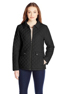Tommy Hilfiger Women's Zip Front Quilted Jacket
