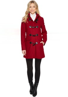 Wool Toggle Front Coat