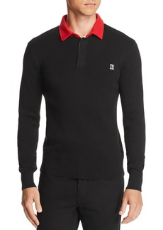 Tommy Hilfiger x Lewis Hamilton Long-Sleeve Polo Sweater