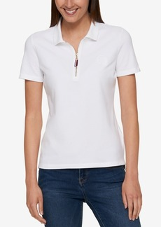 Tommy Hilfiger Zip-Up Polo Top, Created for Macy's