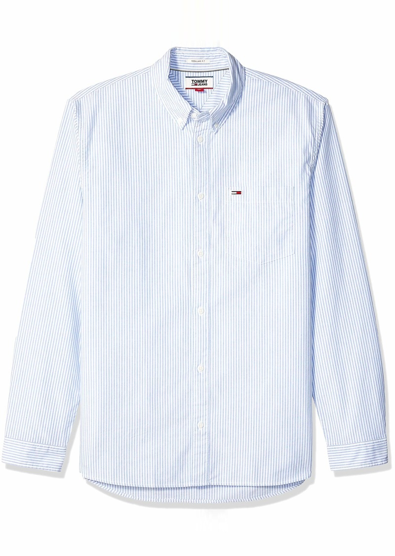 Tommy Hilfiger Tommy Jeans Men's Button Down Shirt  XL