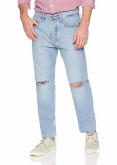 Tommy Hilfiger Tommy Jeans Men's Cropped Relaxed Fit Jean  34X32
