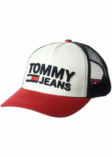 Tommy Hilfiger Tommy Jeans Men's Flag Trucker Hat  OS