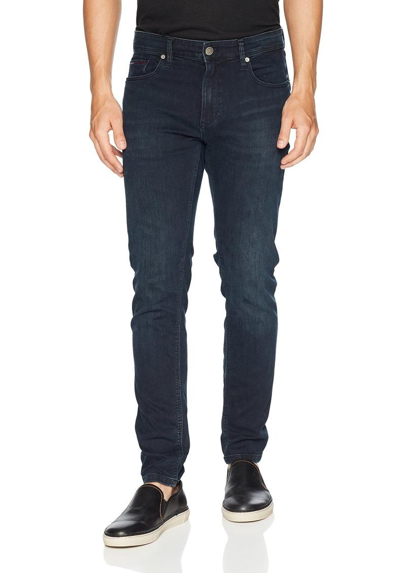 51d4bb69 Tommy Hilfiger Tommy Jeans Men's Original Steve Slim Athletic Fit Jeans  With Skinny Ankle 30X36