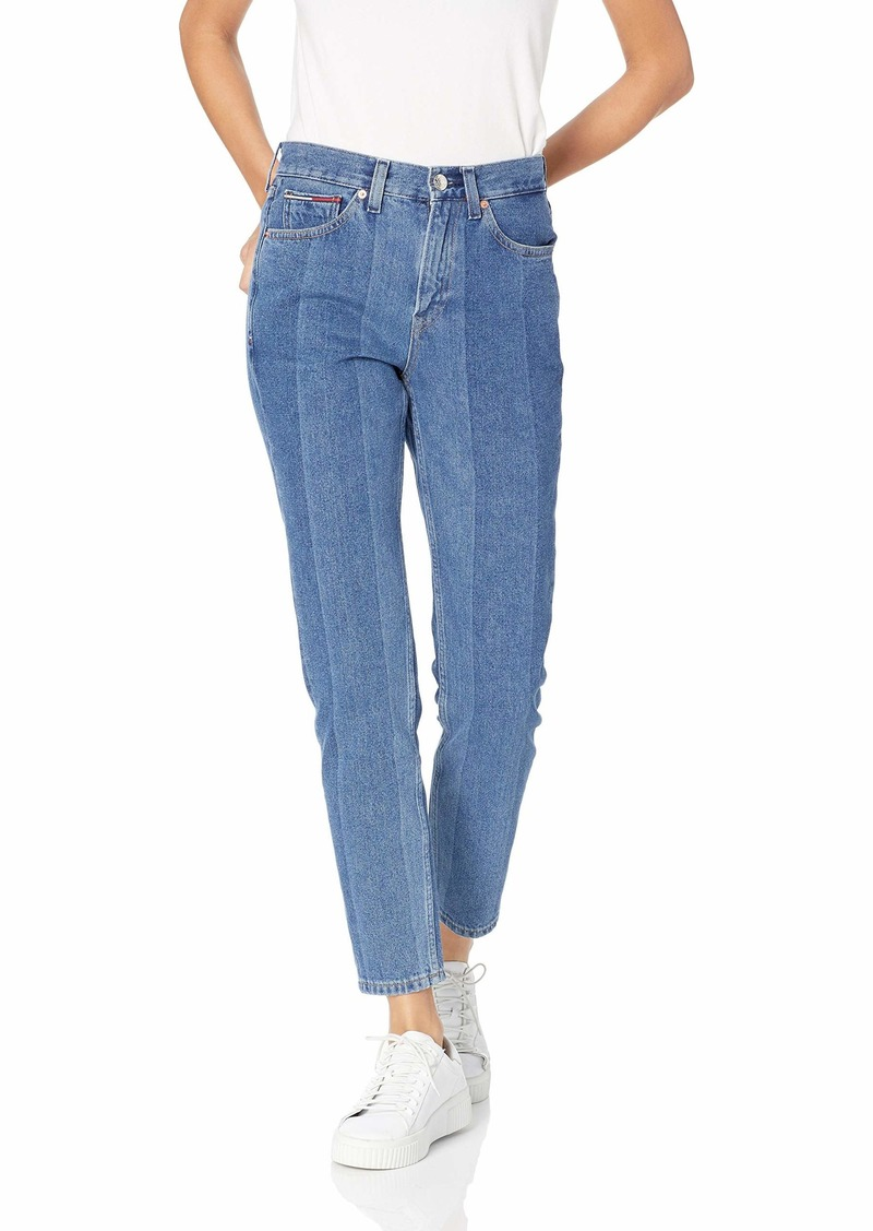 Tommy Hilfiger Tommy Jeans Women's High Rise Slim Fit Crop Jeans New Blue 26X32