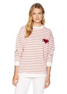 Tommy Hilfiger Tommy Jeans Women's Long Sleeve T-Shirt Heavyweight Knit Tee
