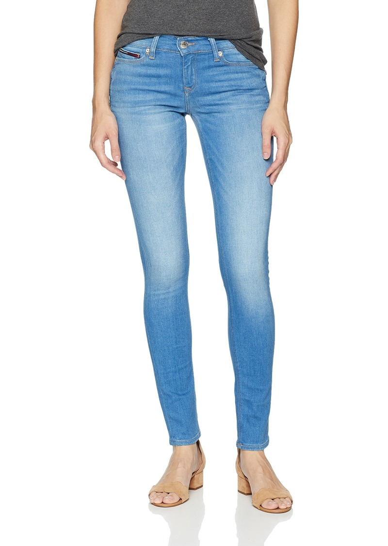 5ded7eaf Tommy Hilfiger Tommy Jeans Women's Skinny Nora Mid Rise Jeans 26X32 ...
